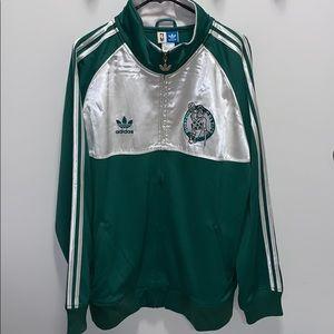 Boston Celtics Adidas Banner Track Jacket
